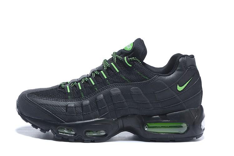 air max noir et vert