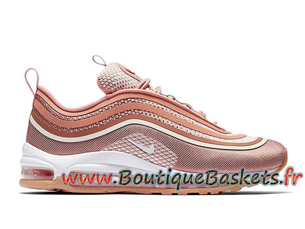 Nike Air Max 97 Femmes Pas cher Nike Air Max 97 Premium Rose Tradanser Chaussures
