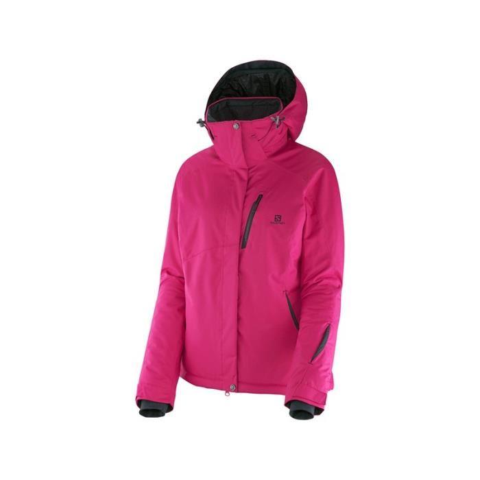 veste de ski femme rose pas cher