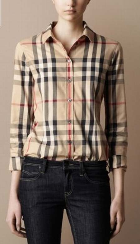 chemise pour femme burberry pas cher