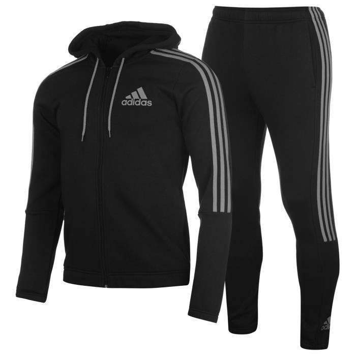 survetement homme ensemble adidas blanc