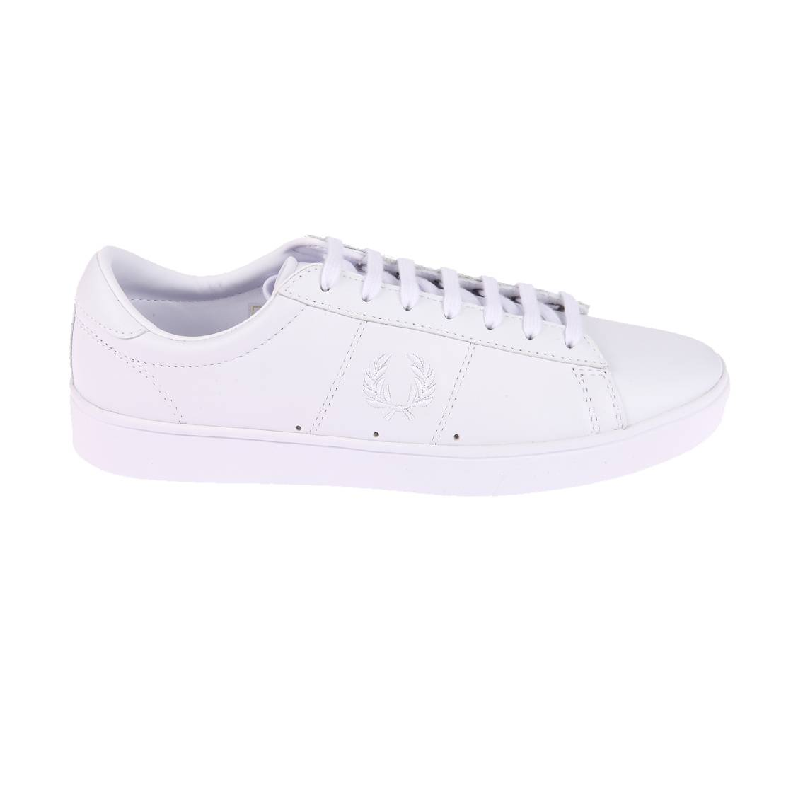 fred perry basket blanche