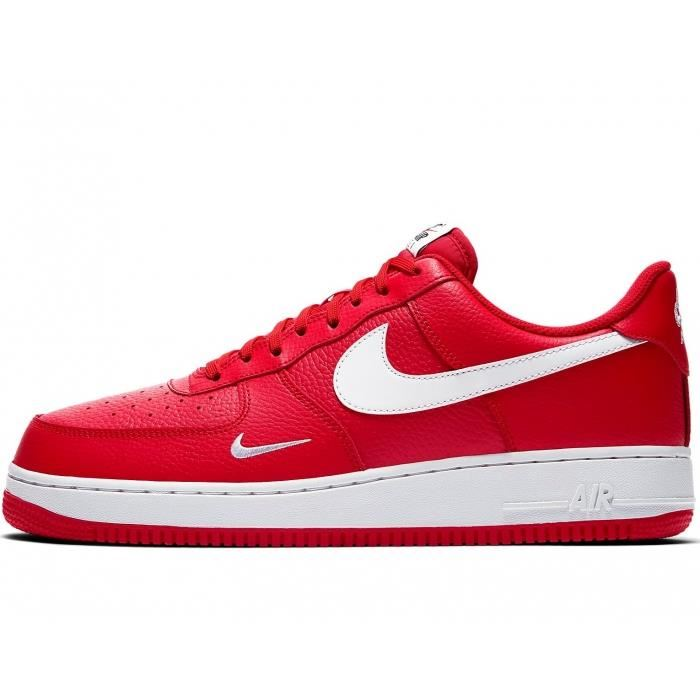 basket air force 1 rouge