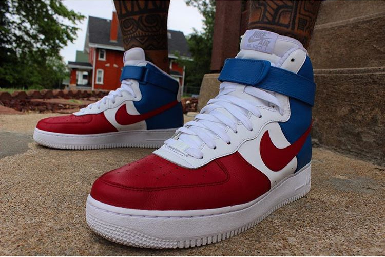 nike air force one france